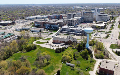 The Ronald McDonald House In Wauwatosa Before Expansion Drone Photos